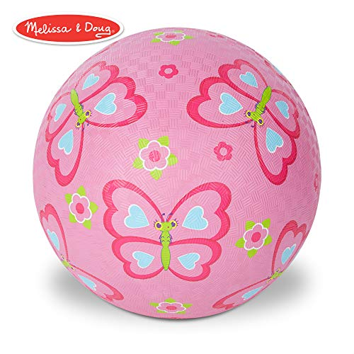 Melissa & Doug Sunny Patch Cutie Pie Butterfly Classic Rubber Kickball -