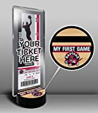 Toronto Raptors My First Game Ticket Display Stand