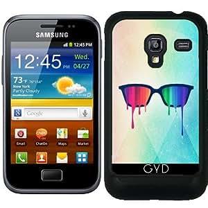 Funda para Samsung Galaxy Ace Plus S7500 - El Amor Gana. Arco Iris - Espectro by badbugs_art