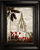 LDS Oakland Temple 2 38x31 Double Frame - Framed Legacy Art