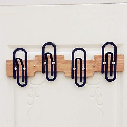 Joeesun Sujetapapeles creativo gancho de la puerta de hierro ...
