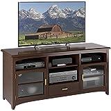 Sonax B-094-PPT West Lake 60-Inch TV/Component Bench, Dark Espresso