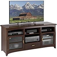 Sonax B-094-PPT West Lake 60-Inch TV/Component Bench, Dark Espresso