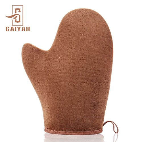 Over Self Tanner - GAIYAH Self Tanning Mitt Applicator - Sunless Tanning Mitt Self Tanner Mitt Self Tanning Mit Self Tan Mitt Self Tanner Applicator Mitt Tan Applicator Mitt With Thumb Ultra Soft Tanning Glove