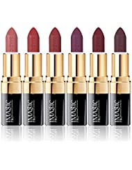 CCbeauty 6 Colors Lipsticks Set Matte for Girls Women...