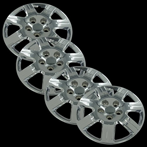 "Chrome 16"" Bolt on Hub Cap Wheel Covers for Honda Civic - Set of 4"