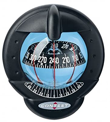 Nautos 39665 - Contest 101 Compass-vertical Mount-black Bezel Black Card- Plastimo from Plastimo
