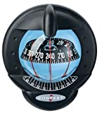 NAUTOS 40030-CONTEST 101 COMPASS- MOUNT INCLINED 10 TO 25 DEGREES- BLACK BEZEL BLACK CARD - PLASTIMO 64422