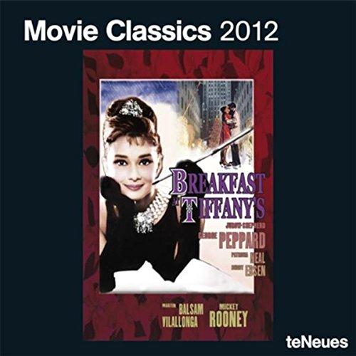 2012 Movie Classics Grid Calendar by