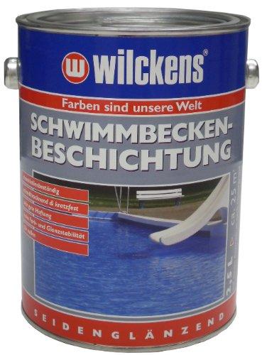 Wilckens 11651200080 - Pintura para piscinas, color: azul