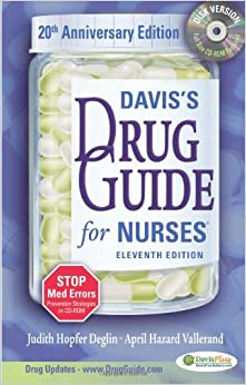 Davis's Drug Guide for Nurses [With CDROM] (Davis's Drug Guide for Nurses (W/CD))