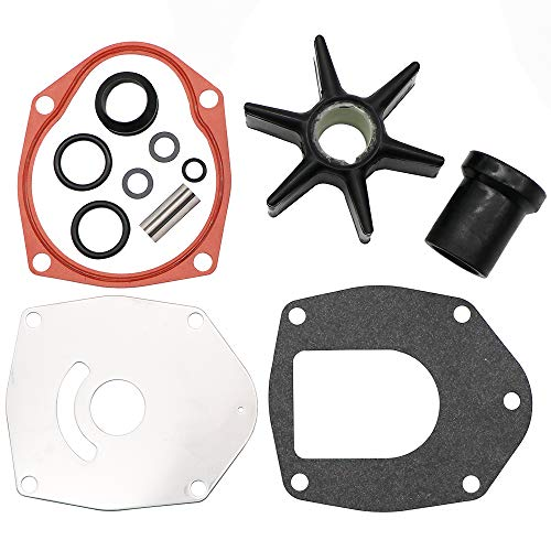 Force Outboard Parts - KIPA Impeller Water Pump Repair Kit for Chrysler Force Honda MerCruiser Mariner Mercury Marine Outboard Engines, Replace for Sierra 18-3214 47-43026Q06