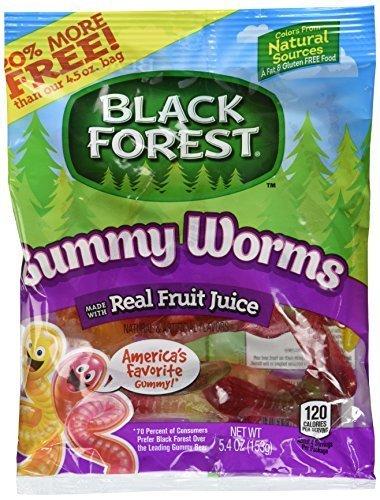 Black Forest Gummies-Gummy Worms-4.5 Oz-3 Pack]()