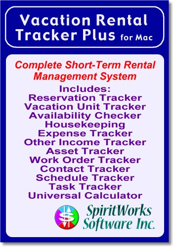 Vacation Rental Tracker Plus for Mac [Download] by SpiritWorks Software Inc.