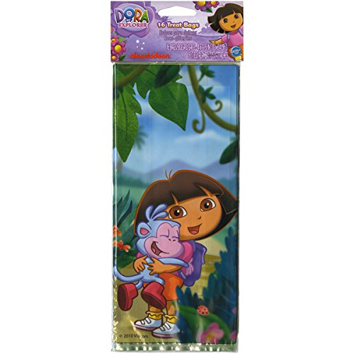 (Wilton Dora the Explorer Treat Bags, Pack of 16)