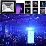 UV LED Black Light, HouLight High Power 10W Ultra Violet UV LED Flood Light IP65-Waterproof (85V-265V AC) for Blacklight Party Supplies, Neon Glow, Glow in the Dark, Fishing, Aquarium, Curing
