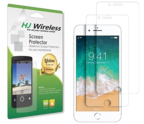iPhone 6s Screen Protector/iPhone 6 Screen Protector/iPhone 8 Screen Protector/iPhone 7 Screen Protector tempered glass screen protector for the 4.7 iPhone 8 7 6 and 6s (2 Pack)