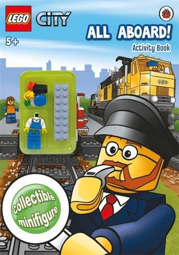 LEGO CITY: All Aboard! Activity Book with (Lego City All Aboard)
