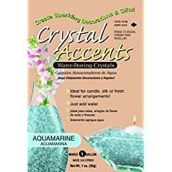 Crystal Accents CA-25A Aquamarine 1-Ounce Bag
