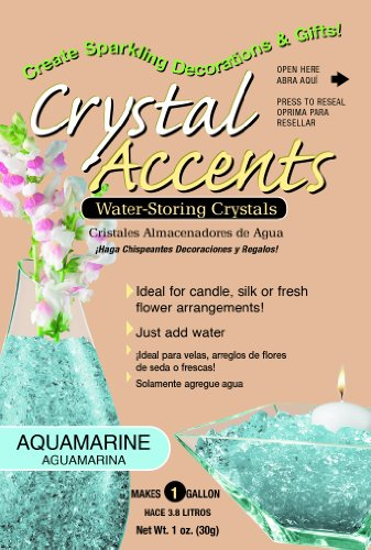 Crystal Accents CA-25A Aquamarine 1-Ounce - Co Tiffany Ca And