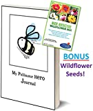 download ebook the bees waggle my pollinator hero journal book - bonus wildflower seeds - kids discover the world of plant and flower pollination - the importance of bees, butterflies and hummingbirds pdf epub