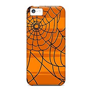 High Impact Dirt/shock Proof Case Cover For Iphone 5c (halloween Spirit 189)