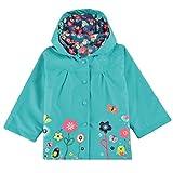 Fanala Blue Cute Baby Girls Windproof Rain Jacket Kids Outwear Hoodies