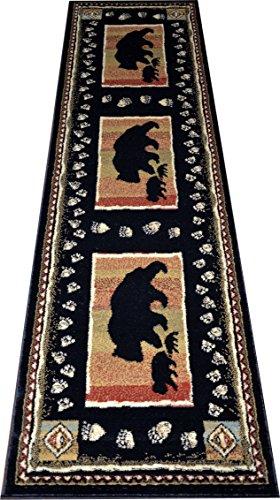 Dean Black Lodge Carpet Runner