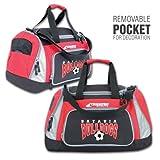 Champro Pro-Plus Personal Gear Bag, Black/Scarlet, 24