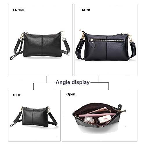 Orange Genuine Leather mini Crossbody Shoulder party totes Handbags fashion Women Wristlet shopping Clutches Purse bags q6Zd5