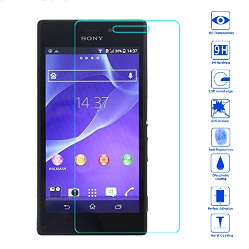 Tempered Glass Screen Protector for Sony Xperia M2 - 3