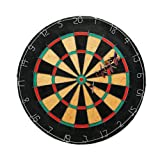 Triple Out Darts SDRT - 001 Tournament Bristle Dartboard with 6 Regulation Steel Tip Darts
