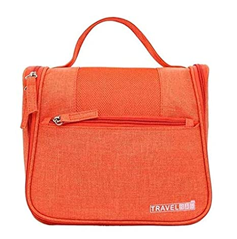 05cbde55ac Buy ASkyl Travel Cosmetic, Makeup Organizer Toiletry bags For Women And Men  (Orange) Online at Low Prices in India - Amazon.in