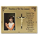 Cathedral Art WL310 Remembrance of First Holy Communion Picture Frame, 8 by 6-Inch