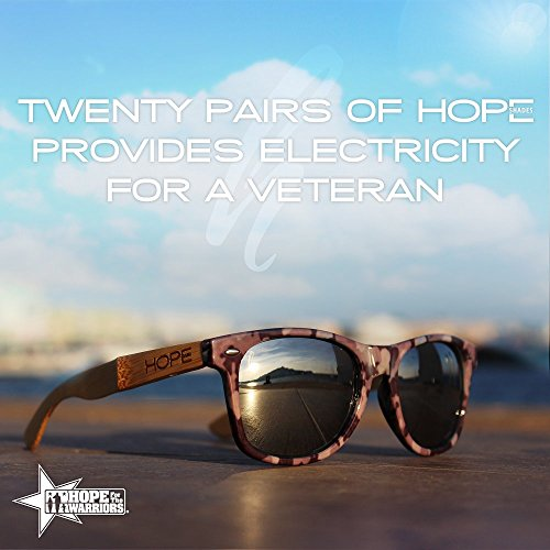 Hope Shades | Sunglasses that Give to Charity - Sunglasses Veteran