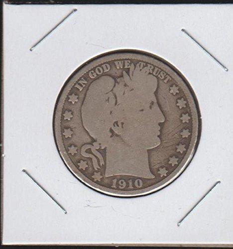 (1910 Barber or Liberty Head (1892-1915) Half Dollar Very Good)