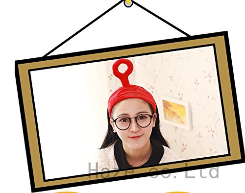 NPLE--Womens Girls Teletubbies Headband Costume Fancy Dress Party Hair Accs Hairband (Red)