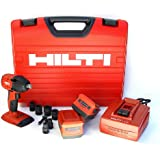 Hilti 03482658 SIW 18-A 1/2-Inch 18-volt CPC Cordless Impact Wrench with Resistant Case and 1/2-Inch Square Chuck