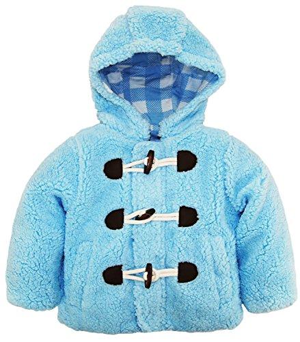 Plaid Toggle Coat Jacket - 6