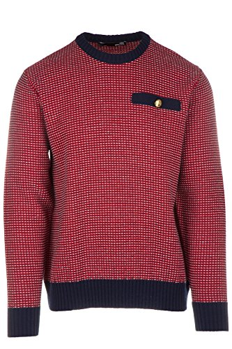 Love Moschino pull ras du cou homme rouge