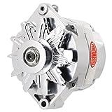 Powermaster 27294 Alternator; 12si; 100 Amp; w/1 V-Belt Pulley; OE Look; Polished;