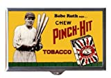 Best Case In Point 4.0 Pill Boxes - Babe Ruth says Chew Pinch-Hit Tobacco Baseball Retro Review