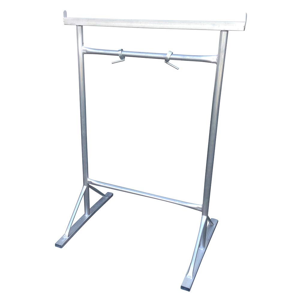 No 4 Builders Trestles (Pair) Galvanised Finish Fixed Leg 450 Kilos SWL - Industrial Use Toptower