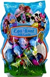Disney Egg Hunt with 22 Character Decorated Plastic Eggs, Filled with Candy Characters