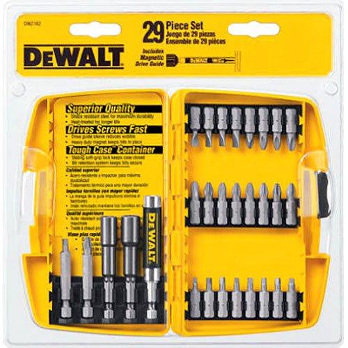 DEWALT DW2162 29 Piece Screwdriving Nutdriving