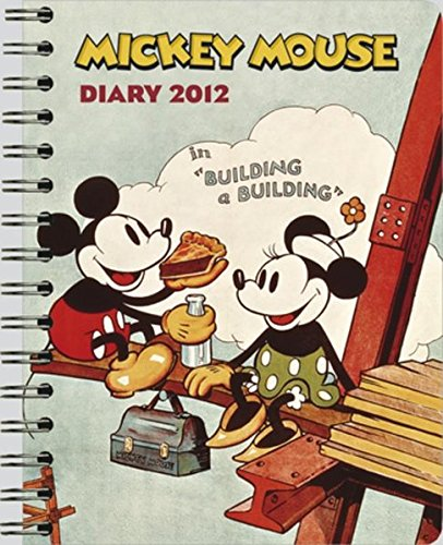 Walt Disney Mickey Mouse diary 2012