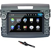 TOCADO 7 Car Stereo Fit for HONDA CRV 2012 2013 TouchScreen In Dash Car DVD Receiver Double Din GPS Navigation Car DVD Player Support CD DVD VCD MP3 BT GPS + Backup Camera