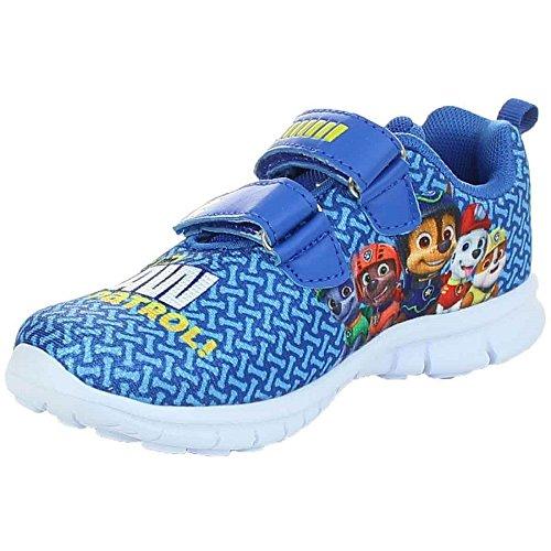 PAW PATROL Jungen Sneaker Schuhe Halbschuh Klettverschluss blau Gr.25-32