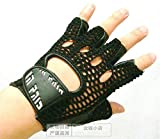 Blue Stones Leather Mesh breathable Summer Fitness Sports Exercise Training Gym Gloves multifunction Durable Non-slip