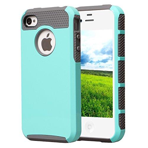 iPhone 4 Case, iPhone 4S Case, BAROX Fashion Cute Armor Case for iPhone 4 (Iphone 4 Cases For Guys)